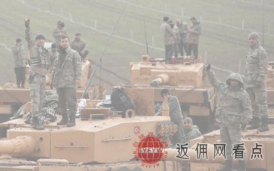 土耳其空军袭击叙利亚哈塞克省的库尔德武装组织SDF的基地